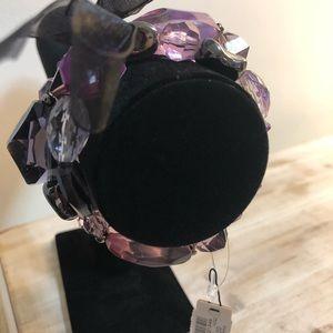 New Chico's purple bracelet